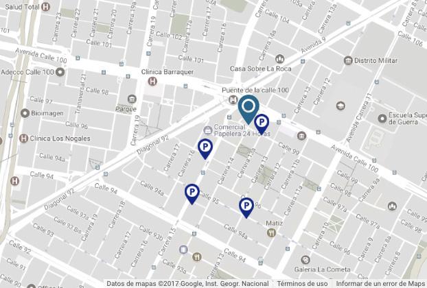 Forum SUMA móvil 2017: Mapa de localización